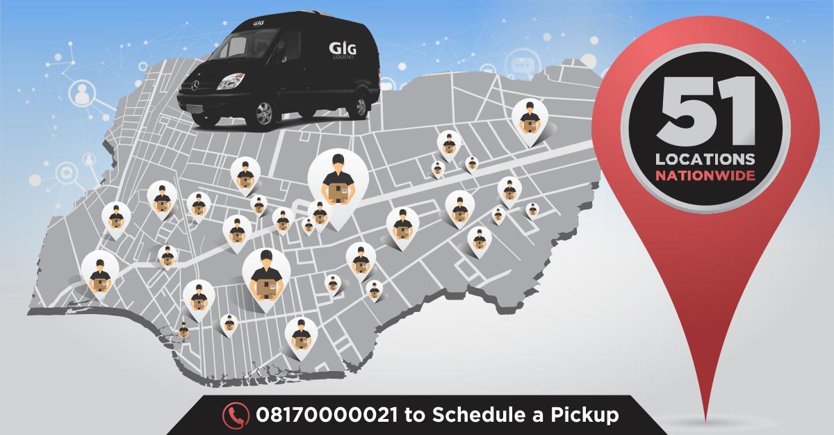 GIG Logistics Locations